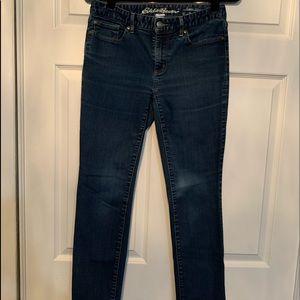 Woman's Eddie Bauer Straight leg jeans